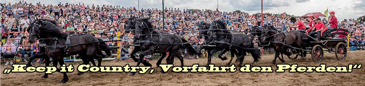 Keep it Country, vorfahrt den Pferden